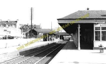 Falkirk Grahamston Railway Station Photo. Larbert - Polmont. Manuel Line. (2)