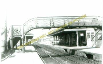 Falkirk Grahamston Railway Station Photo. Larbert - Polmont. Manuel Line. (4)