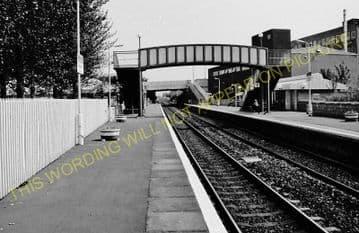 Falkirk Grahamston Railway Station Photo. Larbert - Polmont. Manuel Line. (6)