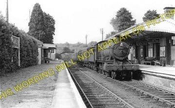 Fawley Railway Station Photo. Ross-on-Wye - Ballingham. Hereford Line. GWR. (1)