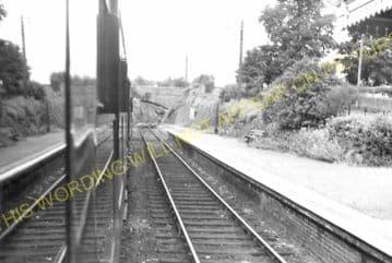 Fawley Railway Station Photo. Ross-on-Wye - Ballingham. Hereford Line. GWR. (10)