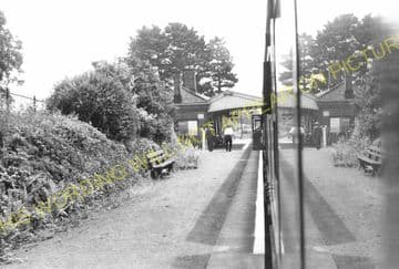 Fawley Railway Station Photo. Ross-on-Wye - Ballingham. Hereford Line. GWR. (11)
