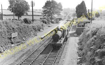 Fawley Railway Station Photo. Ross-on-Wye - Ballingham. Hereford Line. GWR. (2)