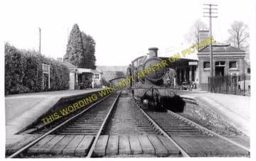 Fawley Railway Station Photo. Ross-on-Wye - Ballingham. Hereford Line. GWR. (6)