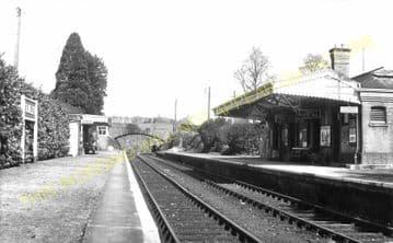 Fawley Railway Station Photo. Ross-on-Wye - Ballingham. Hereford Line. GWR. (7)