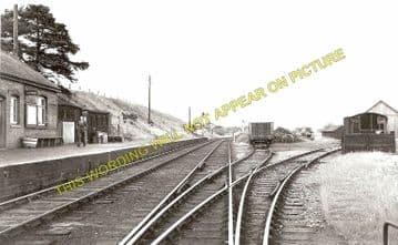 Fenn's Bank Railway Station Photo. Whitchurch - Bettisfield. (1)