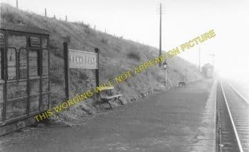 Fenn's Bank Railway Station Photo. Whitchurch - Bettisfield. (3)