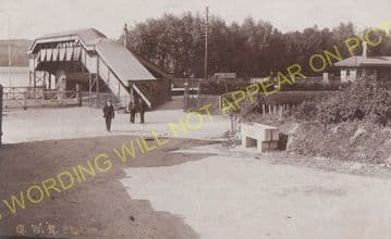 Ferryside Railway Station Photo. Carmarthen - Kidwelly. Llanelly Line. (5)