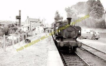 Ffairfach Railway Station Photo. Llandilo - Llandebie. Pantyffynnon Line. (1)