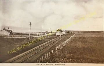 Findochty Railway Station Photo. Portessie - Portknockie. Buckie to Cullen. (2)