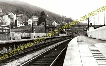 Fishguard & Goodwick Railway Station Photo. Letterston and Clarbeston Lines. (1)..