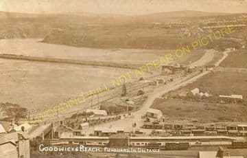 Fishguard & Goodwick Railway Station Photo. Letterston and Clarbeston Lines. (10)