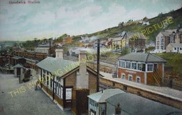 Fishguard & Goodwick Railway Station Photo. Letterston and Clarbeston Lines. (11)