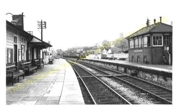 Fishguard & Goodwick Railway Station Photo. Letterston and Clarbeston Lines. (3)