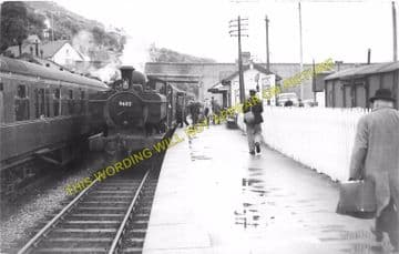 Fishguard & Goodwick Railway Station Photo. Letterston and Clarbeston Lines. (5)