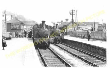 Fishguard & Goodwick Railway Station Photo. Letterston and Clarbeston Lines. (6)