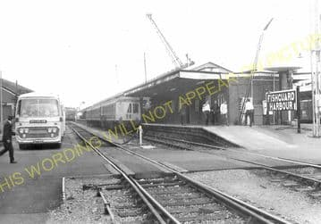 Fishguard Harbour Railway Station Photo. Whitland Line. Great Western Rly. (20)