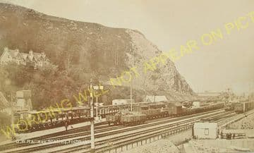 Fishguard Harbour Railway Station Photo. Whitland Line. Great Western Rly. (8)