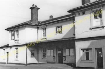 Flint Railway Station Photo. Chester - Holywell. L&NWR. (1).