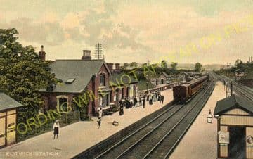 Flitwick Railway Station Photo. Harlington - Ampthill. Luton to Bedford Line (4)