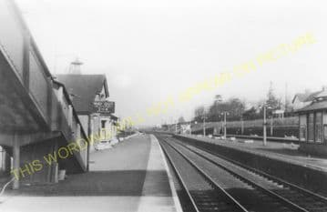 Flitwick Railway Station Photo. Harlington - Ampthill. Luton to Bedford Line (6)