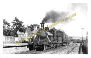 Fochabers Town Railway Station Photo. Orbliston Line. Highland Railway. (3).