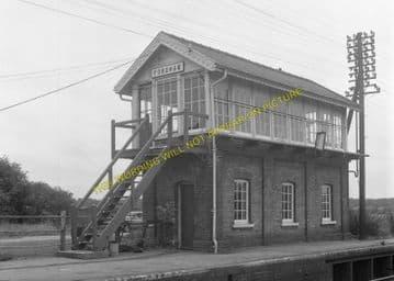 Fordham Railway Station Photo. Newmarket to Soham and Mildenhall Lines. (13)