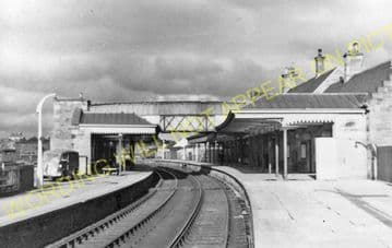 Forfar Railway Station Photo. Caledonian Railway. (3)
