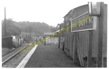 Forge Crossing Railway Station Photo. Titley - Presteign. Great Western Rly. (1)