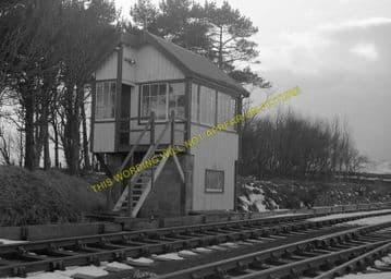 Forsinard Railway Station Photo. Kinbrace - Altnabreac. Highland Railway. (6)