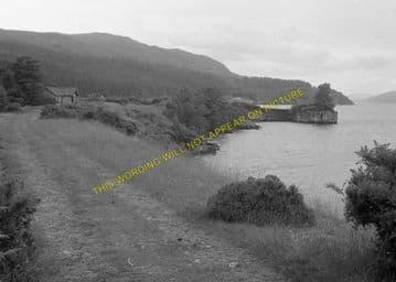 Fort Augustus Pier Railway Station Photo. Aberchalder and Invergarry Line. (11)