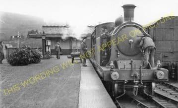 Fort Augustus Railway Station Photo. Aberchalder and Invergarry Line. (2)