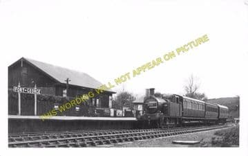 Fort George Railway Station Photo. Gollanfield Line. Highland Railway. (4)