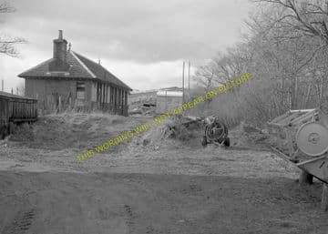 Fort George Railway Station Photo. Gollanfield Line. Highland Railway. (6)