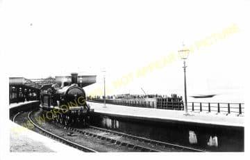 Fort William Railway Station Photo. Spean Bridge and Banavie Lines. NBR. (10)..