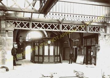 Fort William Railway Station Photo. Spean Bridge and Banavie Lines. NBR. (13)