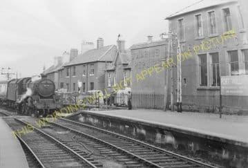 Fort William Railway Station Photo. Spean Bridge and Banavie Lines. NBR. (15)