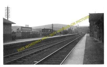 Fountainhall Railway Station Photo. Heriot to Stow and Oxton Lines. (1)