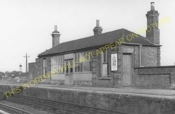 Foxton Railway Station Photo. Harston - Shepreth. Cambridge to Royston Line. (3)