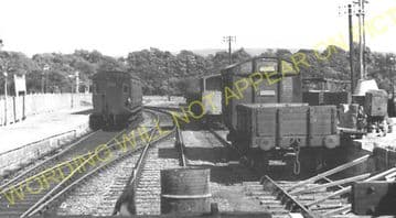 Freshwater Railway Station Photo. Yarmouth and Newport Line. Isle of Wight. (10)