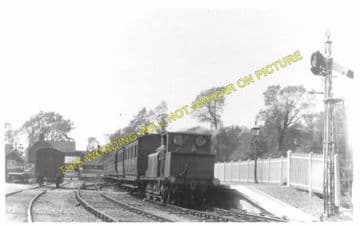 Freshwater Railway Station Photo. Yarmouth and Newport Line. Isle of Wight. (9)