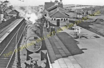 Gaerwen Railway Station Photo. Llanfair to Holyhead and Amlwch Lines. L&NWR. (1)..
