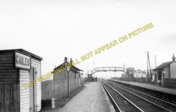 Gailes Railway Station Photo. Irvine - Barassie. Troon Line. G&SWR. (1)..
