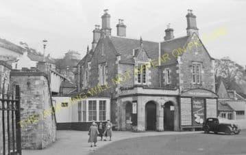 Galashiels Railway Station Photo. Bowland - Melrose. North British Railway. (2)