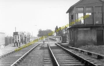 Gargunnock Railway Station Photo. Stirling - Kippen. North British Railway. (1)..