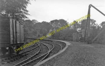 Garlieston Railway Station Photo. Millisle Line. Portpatrick & Wigtownshire. (1)..