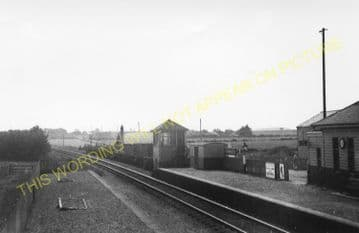 Garmouth Railway Station Photo. Spey Bay - Urqhart. Buckie to Elgin Line. (1)..