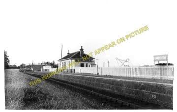 Garmouth Railway Station Photo. Spey Bay - Urqhart. Buckie to Elgin Line. (2)