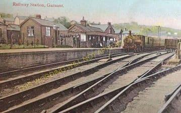 Garnant Railway Station Photo. Brynamman - Glanamman. Ammanford Line. (2)