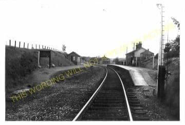 Garth Railway Station Photo. Llangammarch Wells-  Cilmery. Builth Wells Line (12)